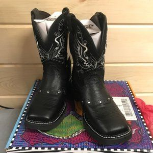 Justin Ladies Gypsy Black Mandra Boot L9977